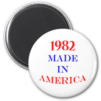 1982 Made in America 2 Inch Round Magnet