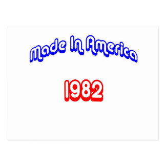 1982 Made In America Postcard