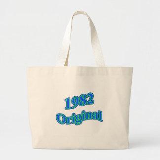 1982 Original Blue Green Tote Bag