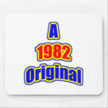 1982 Original Blue Red Mouse Pad
