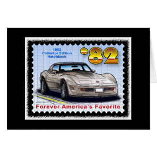 1982 Special Edition Corvette Card