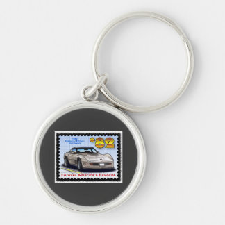 1982 Special Edition Corvette Keychain