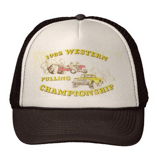 1982 Tractor Truck Pull Mesh Trucker Hat Cap
