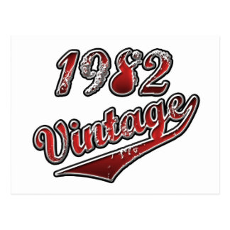 1982 Vintage Postcard