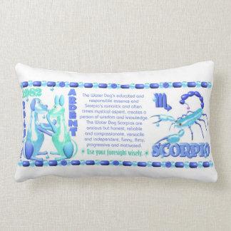 1982 Zodiac Water Dog born Cancer Pillow