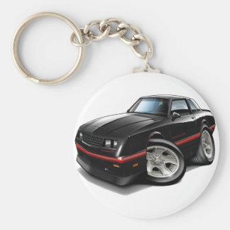 1983-88 Monte Carlo Black Car Keychain