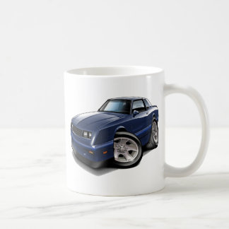 1983-88 Monte Carlo Blue Car Coffee Mug