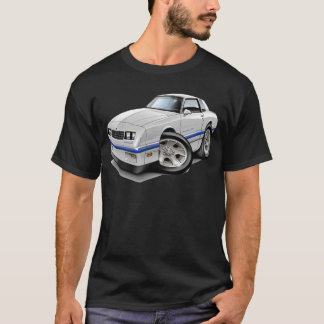 1983-88 Monte Carlo White-Blue Car T-Shirt