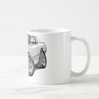 1983-88 Monte Carlo White-Grey Car Coffee Mug