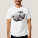 1983-88 Monte Carlo White-Red Car T Shirts