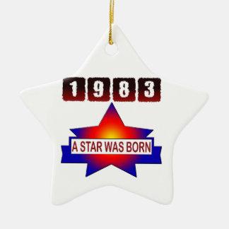 1983 A Star Was Born Christmas Ornaments