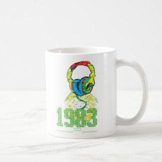 1983 Headphone Classic White Coffee Mug