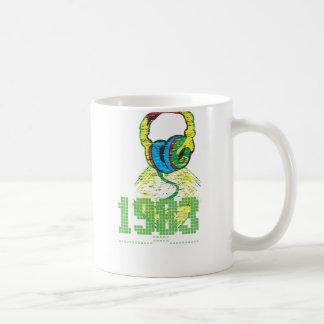 1983 Headphone Coffee Mug