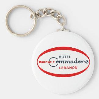 1983 Hotel Commodore logo Basic Round Button Keychain