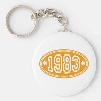 1983 KEY CHAIN