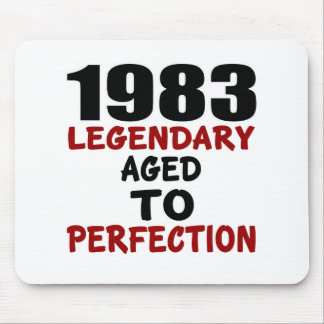1983 LEGENDARY AGED TO PERFECTION MOUSE PAD