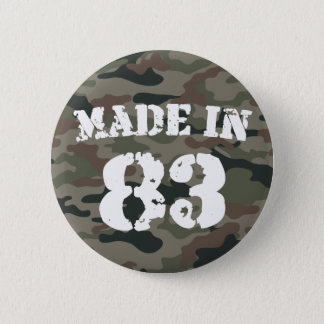 1983 Made In 83 Button