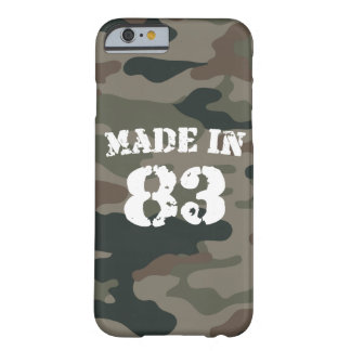 1983 Made In 83 iPhone 6/6s Barely There iPhone 6 Case