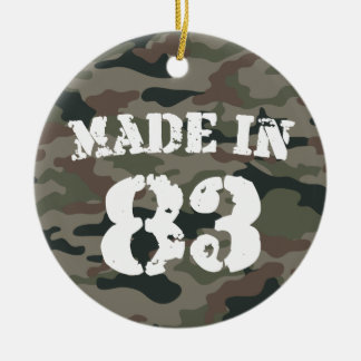 1983 Made In 83 Christmas Ornament