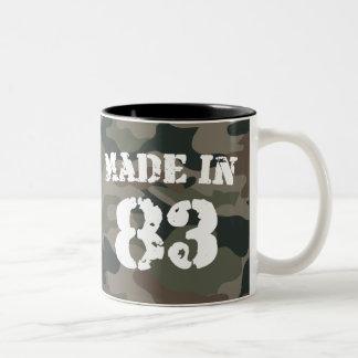 1983 Made In 83 Two-Tone Coffee Mug