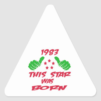 1983 this star was born sticker