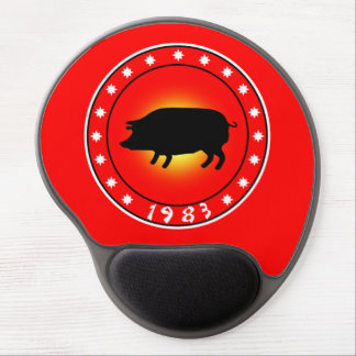 1983 Year of the Pig Gel Mousepad