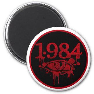 1984 2 INCH ROUND MAGNET