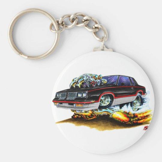 1984-88 Hurst Olds Black-Grey Car Keychain