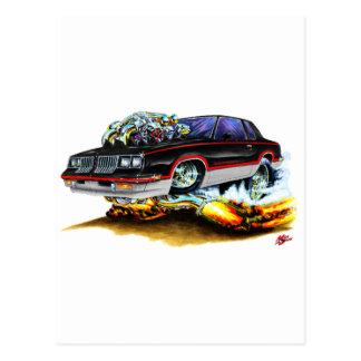 1984-88 Hurst Olds Black-Grey Car Postcard
