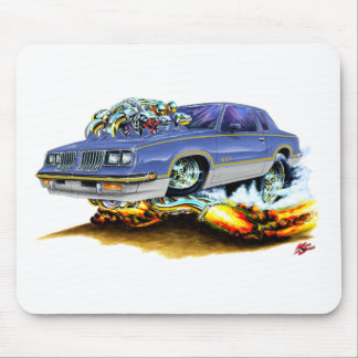 1984-88 Hurst Olds Blue-Grey Car Mouse Pad