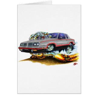 1984-88 Hurst Olds Grey-Black Car Card