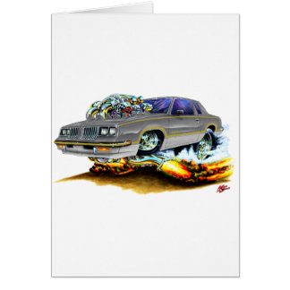 1984-88 Hurst Olds Grey Car Card
