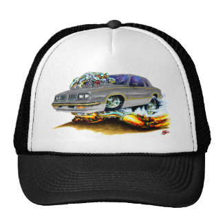1984-88 Hurst Olds Grey Car Trucker Hat