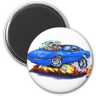 1984-93 Corvette Blue Car Fridge Magnet