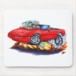 1984-93 Corvette Red Convertible Mouse Pad