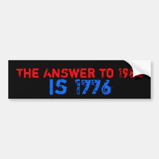 1984 Big Brother Bumper Sticker
