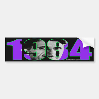 1984 Bumper Sticker