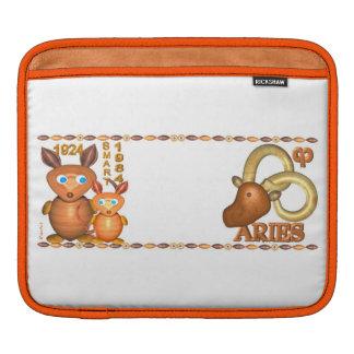 1984 Chinese zodiac wood rat born Aries by Valxart iPad Sleeves