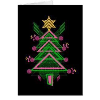 1984:  Christmas tree Card