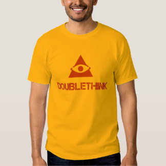 1984 doublethink t-shirt