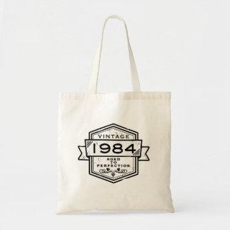 1984 envejecido a la perfección bolsa de mano