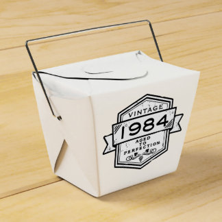 1984 envejecido a la perfección caja para regalos de fiestas