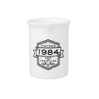 1984 envejecido a la perfección jarras