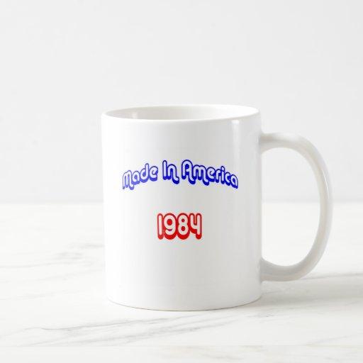 1984 hizo en América Taza De Café