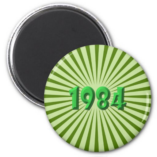 1984 IMÁN REDONDO 5 CM