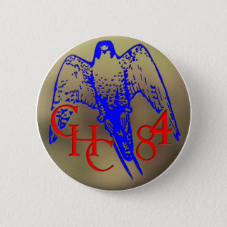 1984 Los Banos Button