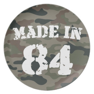 1984 Made In 84 Party Plates
