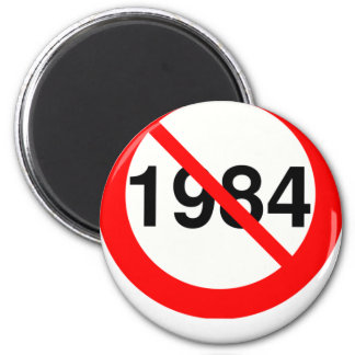 1984 REFRIGERATOR MAGNETS