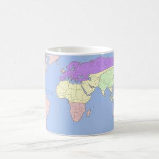 1984 map labeled classic white coffee mug