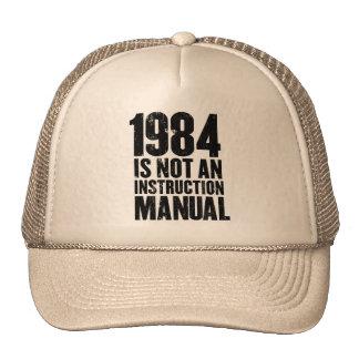 1984 no es un gorra del manual de la instrucción
